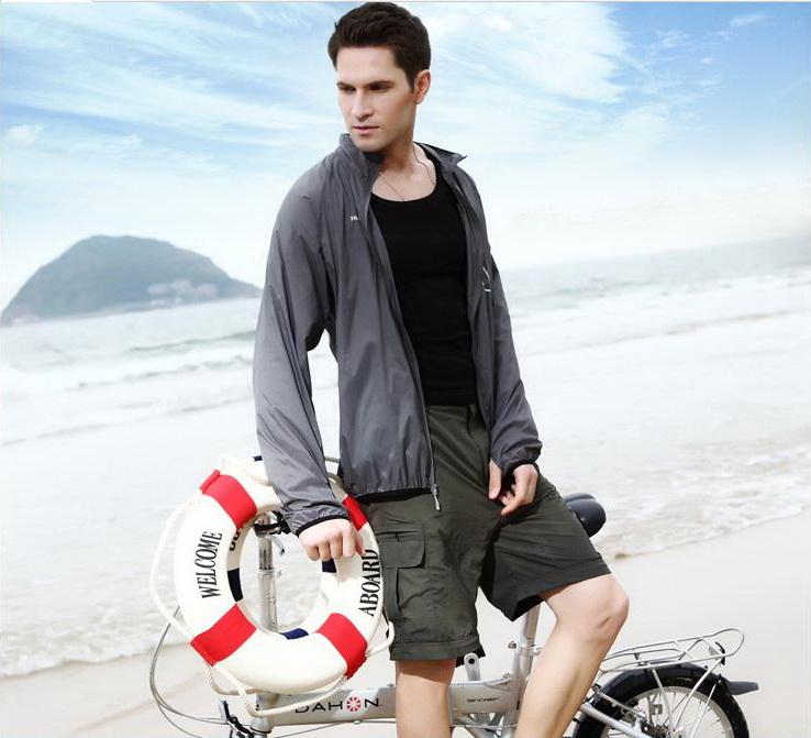 Aó chống nắng thời trang cao cấp cho Nam, Aó chống tia UV,áo siêu nhẹ